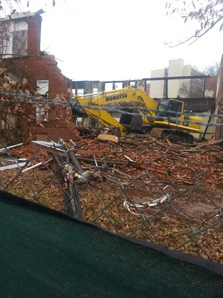 Demolition of Gordon Elementary P2 2