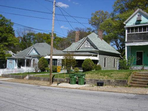 Houses on Grant Street