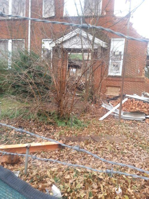 Demolition of Gordon Elementary P2 10