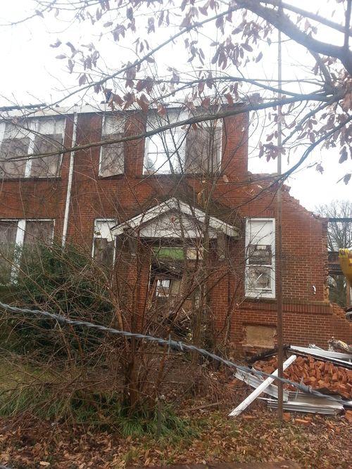Demolition of Gordon Elementary P2 11