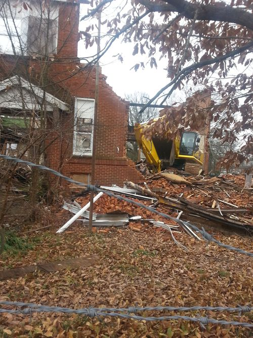 Demolition of Gordon Elementary P2 12