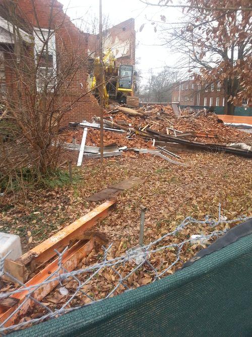 Demolition of Gordon Elementary P2 13