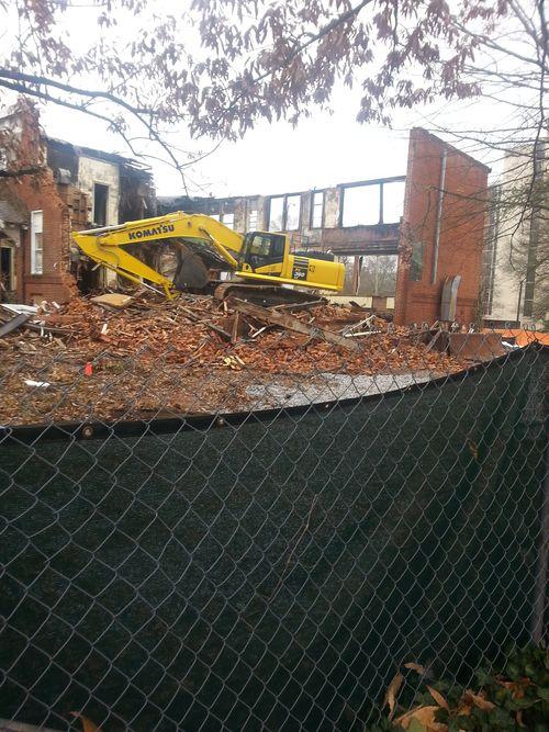 Demolition of Gordon Elementary P2 4