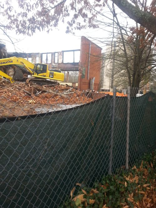 Demolition of Gordon Elementary P2 5