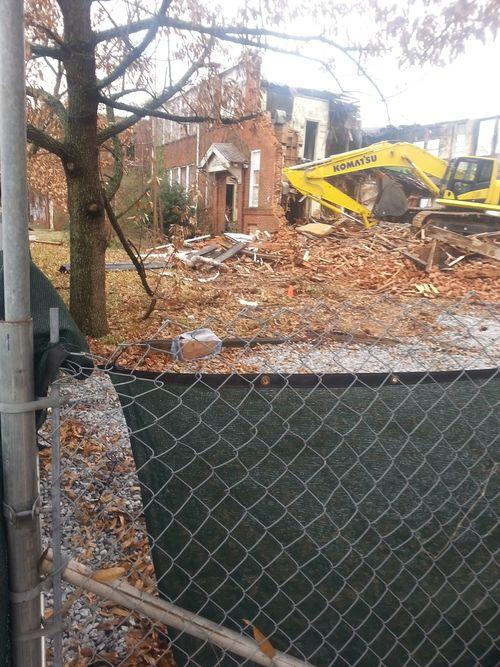 Demolition of Gordon Elementary P2 6