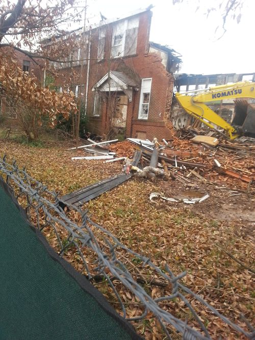 Demolition of Gordon Elementary P2 7