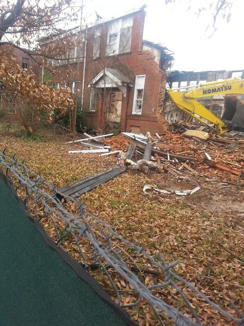 Demolition of Gordon Elementary P2 7
