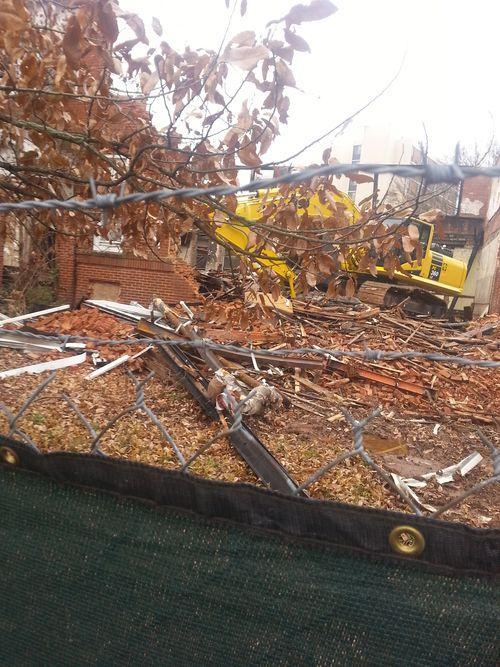 Demolition of Gordon Elementary P2 9
