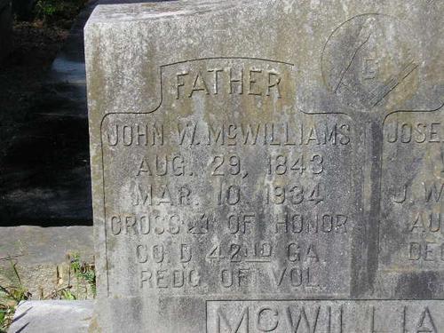 J.W. McWilliams