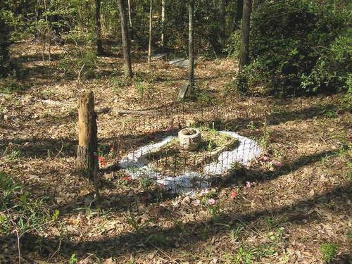 Unmarked Child's Grave